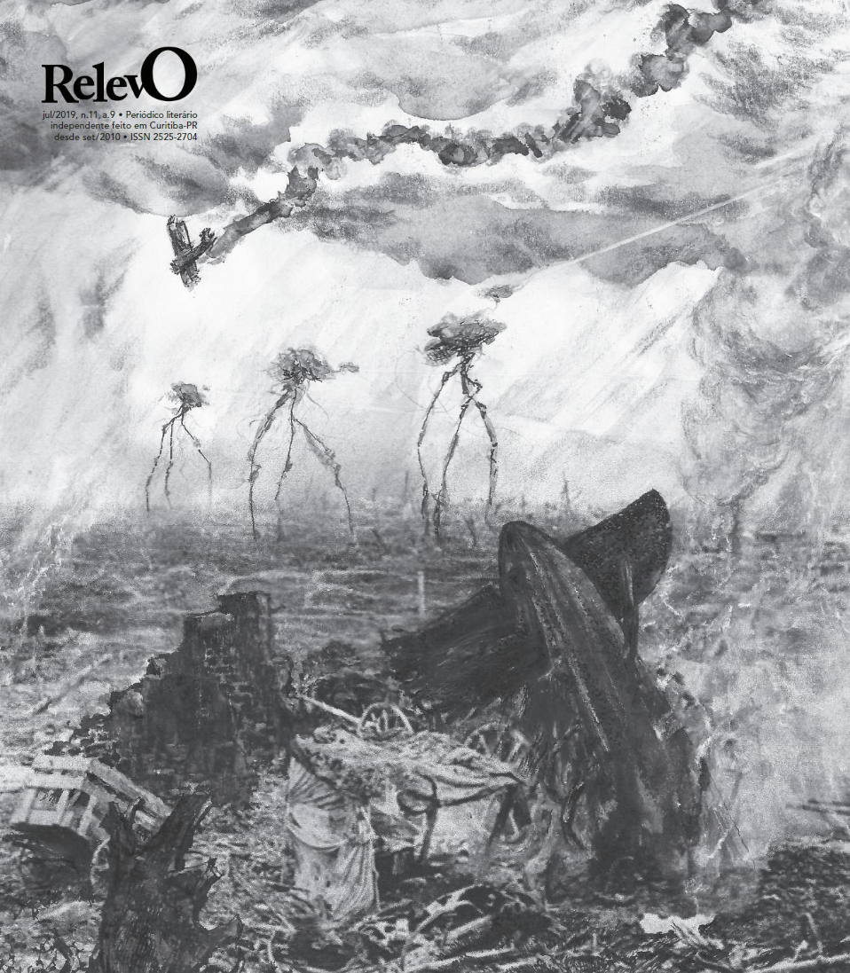 capa da edição de julho de 2019, jornal relevo
