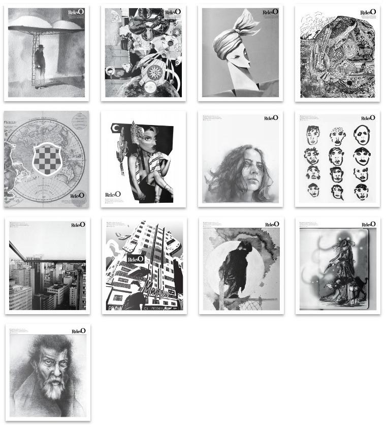 capas Jornal Relevo 2018